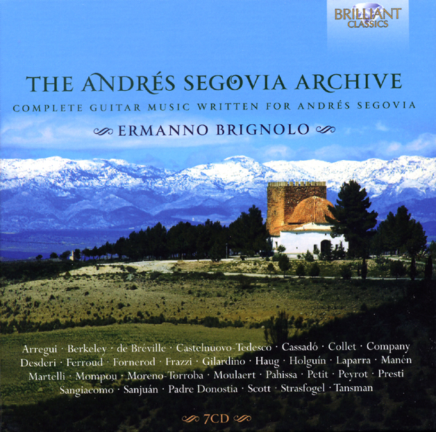 CD Brilliant Segovia Archive