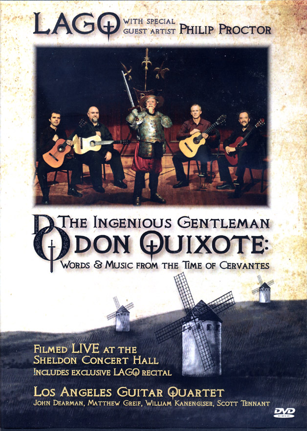 DVD Don Quixote