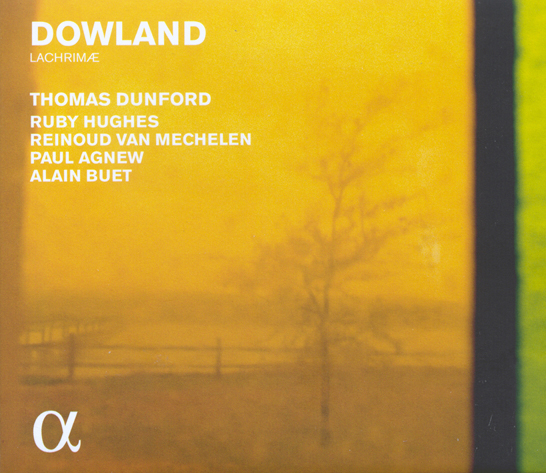 Dowland Lachrimae Dunford CD