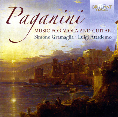 Paganini Music for Viola and Guitar