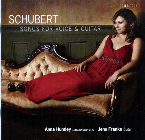 Schubert Songs for Voice and Guitar Huntley und Franke