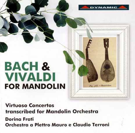 Vivaldi und Bach for Mandolin CD